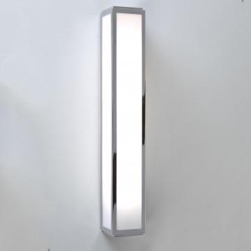 Настенный светильник Astro Mashiko 1121002 (0583), IP44, 1x2G11x36W, белый, хром, металл, стекло