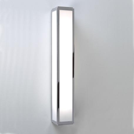 Настенный светильник Astro Mashiko 1121008 (0878), IP44, 1xG5T5x24W, хром, белый, металл, стекло