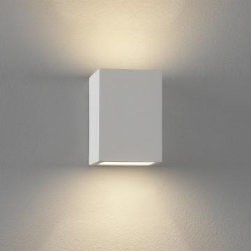 Настенный светильник Astro Mosto 1173001 (813), 1xG9x40W, белый, под покраску, гипс - миниатюра 2