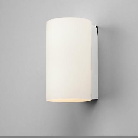 Настенный светильник Astro Cyl 1186001 (883), 2xE14x40W, хром, белый, металл, стекло
