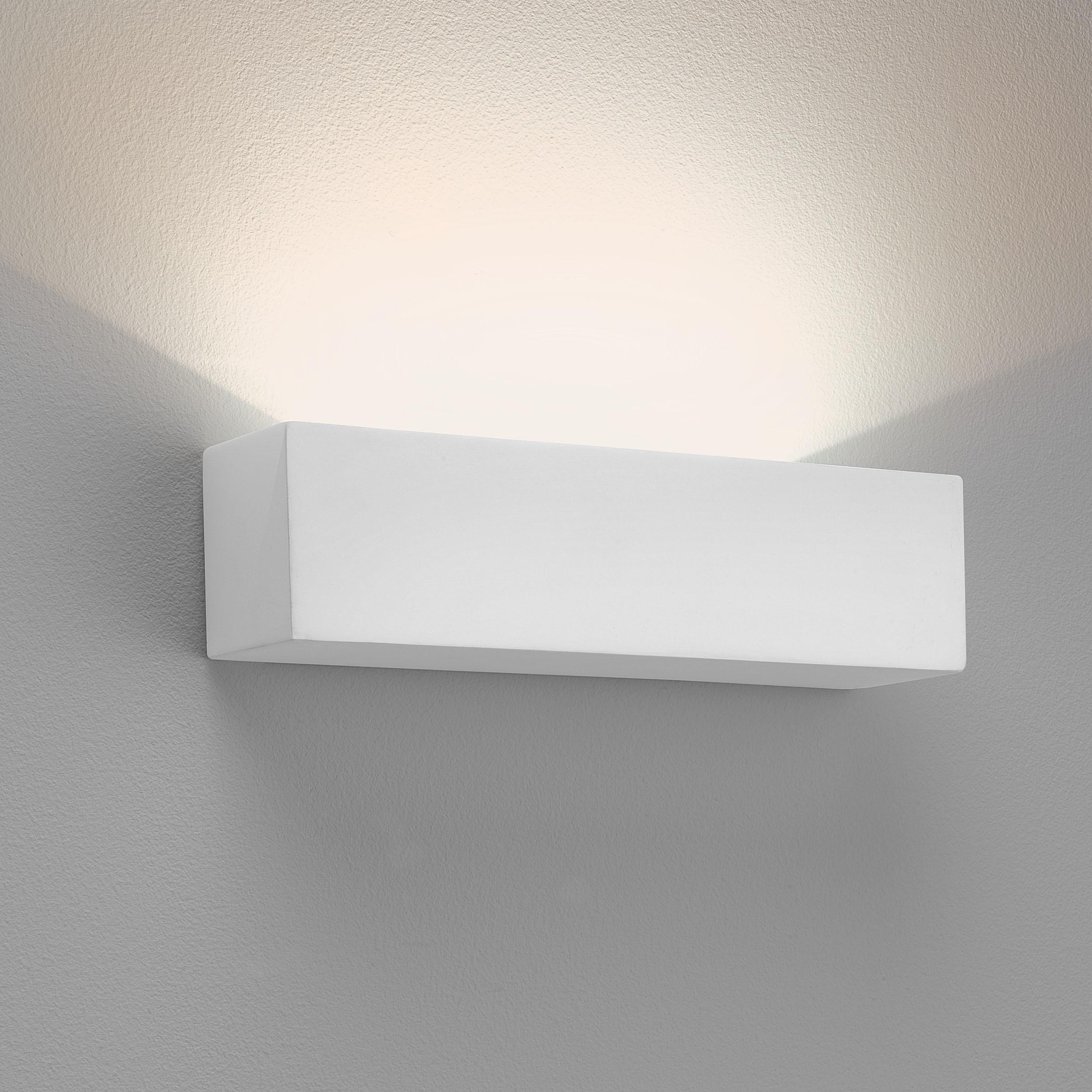 Настенный светодиодный светильник Astro Parma 1187002 (887), LED 9,04W 3000K 301lm CRI80, белый, под покраску, гипс - фото 1