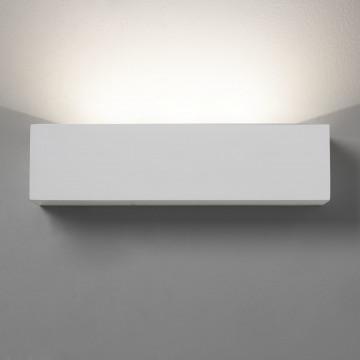 Настенный светодиодный светильник Astro Parma 1187002 (0887), LED 9,04W 3000K 301lm CRI80, белый, под покраску, гипс - миниатюра 2