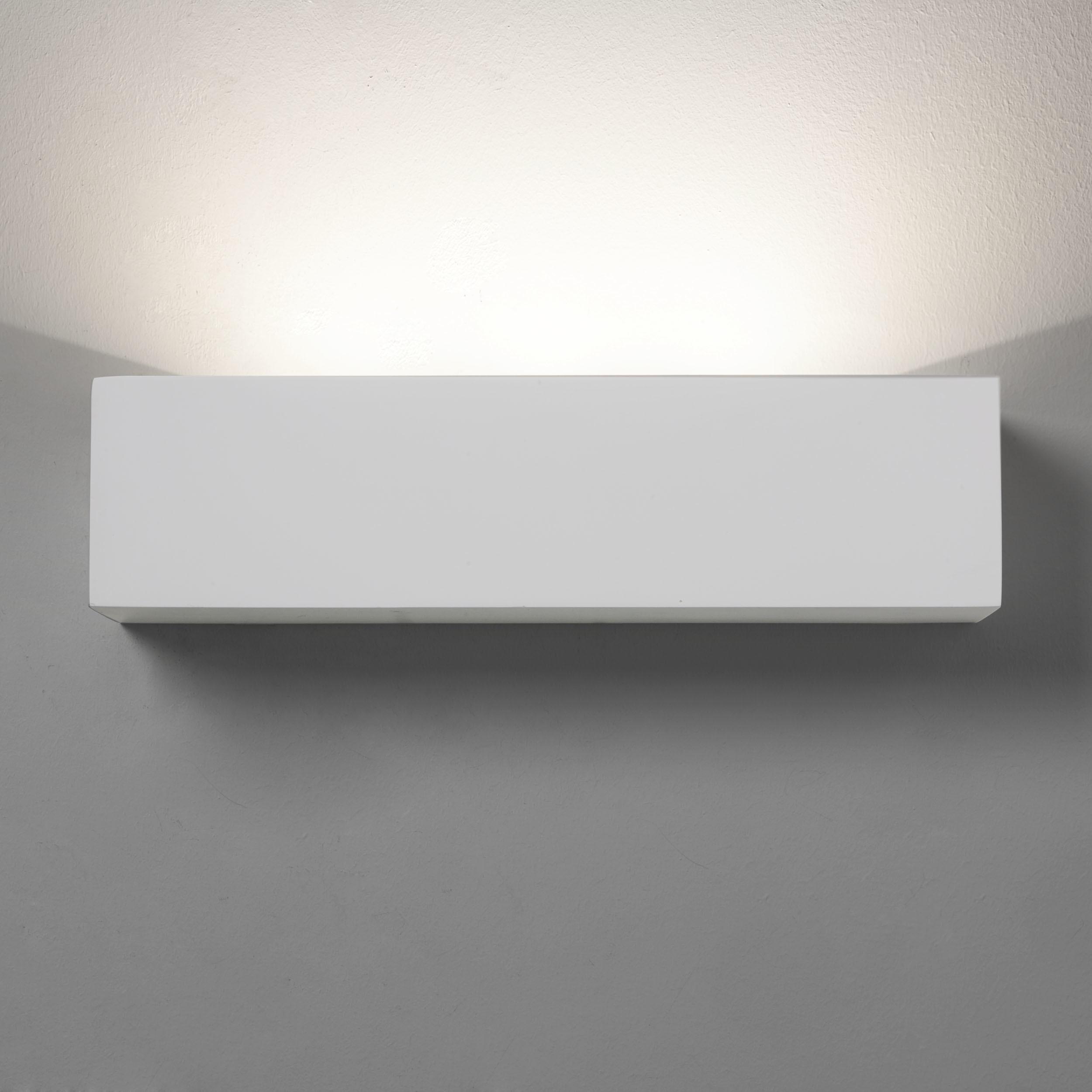 Настенный светодиодный светильник Astro Parma 1187002 (0887), LED 9,04W 3000K 301lm CRI80, белый, под покраску, гипс - фото 2