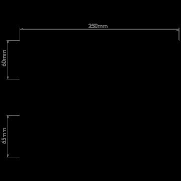 Схема с размерами Astro 1187002