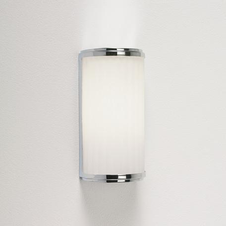 Настенный светильник Astro Monza Classic 1194003 (952), IP44, 1xE27x20W, хром, стекло