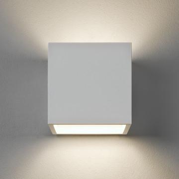 Настенный светильник Astro Pienza 1196001 (917), 1xE14x60W, белый, под покраску, металл, гипс
