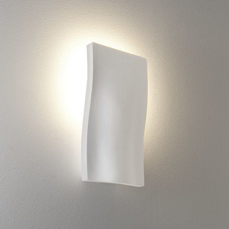Настенный светильник Astro S-Light 1213001 (978), 1xE14x40W, белый, под покраску, гипс