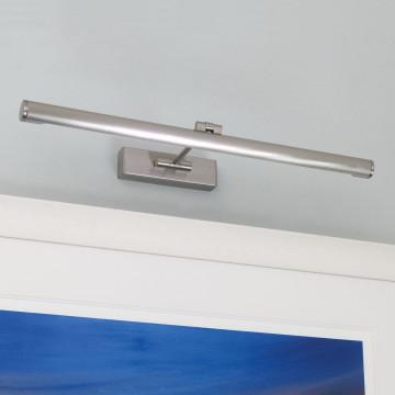 Настенный светильник для подсветки картин Astro Goya 1115002 (0529), 1xG5T5x13W, никель, металл