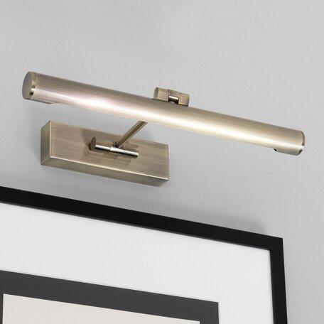 Настенный светильник для подсветки картин Astro Goya 1115003 (534), 1xG5T5x8W, бронза, металл