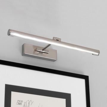 Настенный светодиодный светильник для подсветки картин Astro Goya 1115007 (873), LED 7,1W 2700K 821lm CRI80, никель, металл