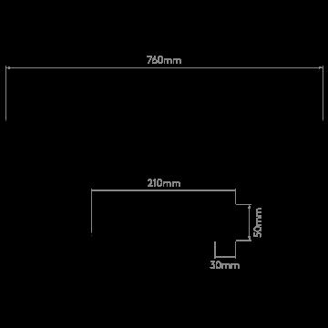 Схема с размерами Astro 1115009