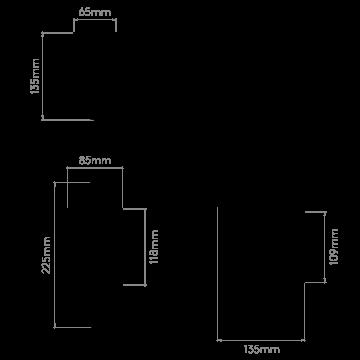Схема с размерами Astro 1076004