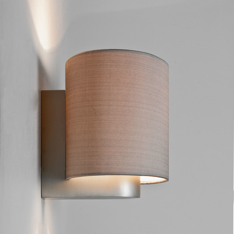 Основание бра Astro Napoli LED 1185001 (881), 1xE27x60W, никель, металл