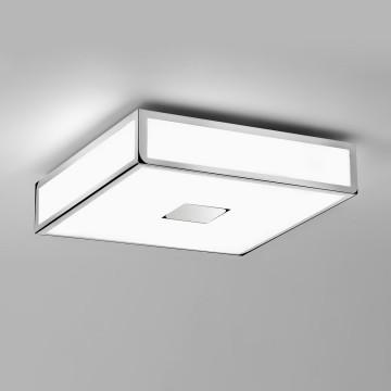 Потолочный светильник Astro Mashiko 1121003 (0584), IP44, 2x2G11x18W, хром, белый, металл, стекло