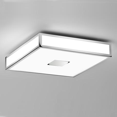 Потолочный светильник Astro Mashiko Classic 1121010 (0891), IP44, 4xE27x40W, хром, белый, металл, стекло