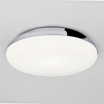 Потолочный светильник Astro Altea 1133002 (586), IP44, 1xE27x60W, хром, белый, металл, стекло