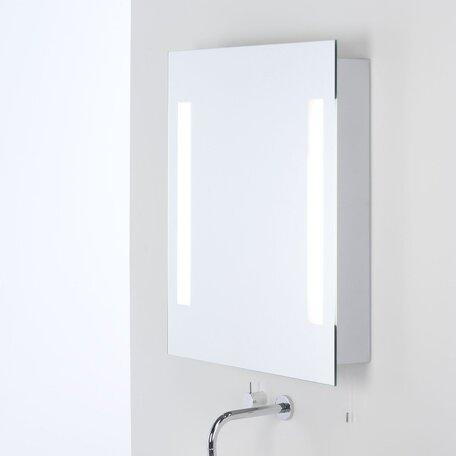 Шкаф с зеркалом и подсветкой Astro Livorno 1056001 (0360), IP44, 2xG5T5x14W, зеркальный, стекло