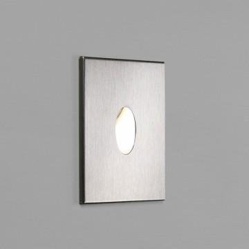 Встраиваемый настенный светодиодный светильник Astro Tango LED 1175002 (0826), IP65, LED 1W 3000K (теплый) 22,68lm, серый