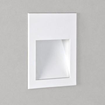 Встраиваемый настенный светодиодный светильник Astro Borgo 1212004 (0973), LED 2W 3000K (теплый) 71,6lm, белый