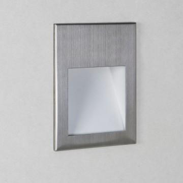 Встраиваемый настенный светодиодный светильник Astro Borgo 1212006 (0975), LED 2W 3000K (теплый) 71,6lm, серый