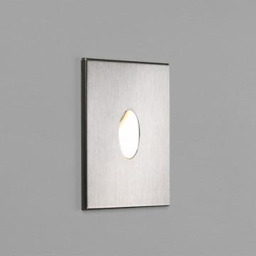 Встраиваемый настенный светодиодный светильник Astro Tango LED 1175002 (0826), IP65, 3000K (теплый), сталь, металл, стекло