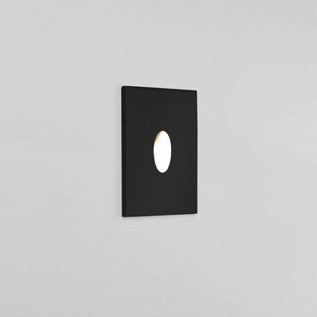 Встраиваемый настенный светодиодный светильник Astro Tango LED 1175004 (0832), IP65, 3000K (теплый), черный, металл, стекло