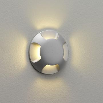 Встраиваемый настенный светодиодный светильник Astro Beam One LED 1202003 (939), IP67, LED 2,2W 3000K 11lm CRI80, серебро, металл
