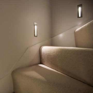 Встраиваемый настенный светодиодный светильник Astro Borgo 1212002 (971), LED 2W 3000K 38.8lm CRI80, хром, металл - миниатюра 4