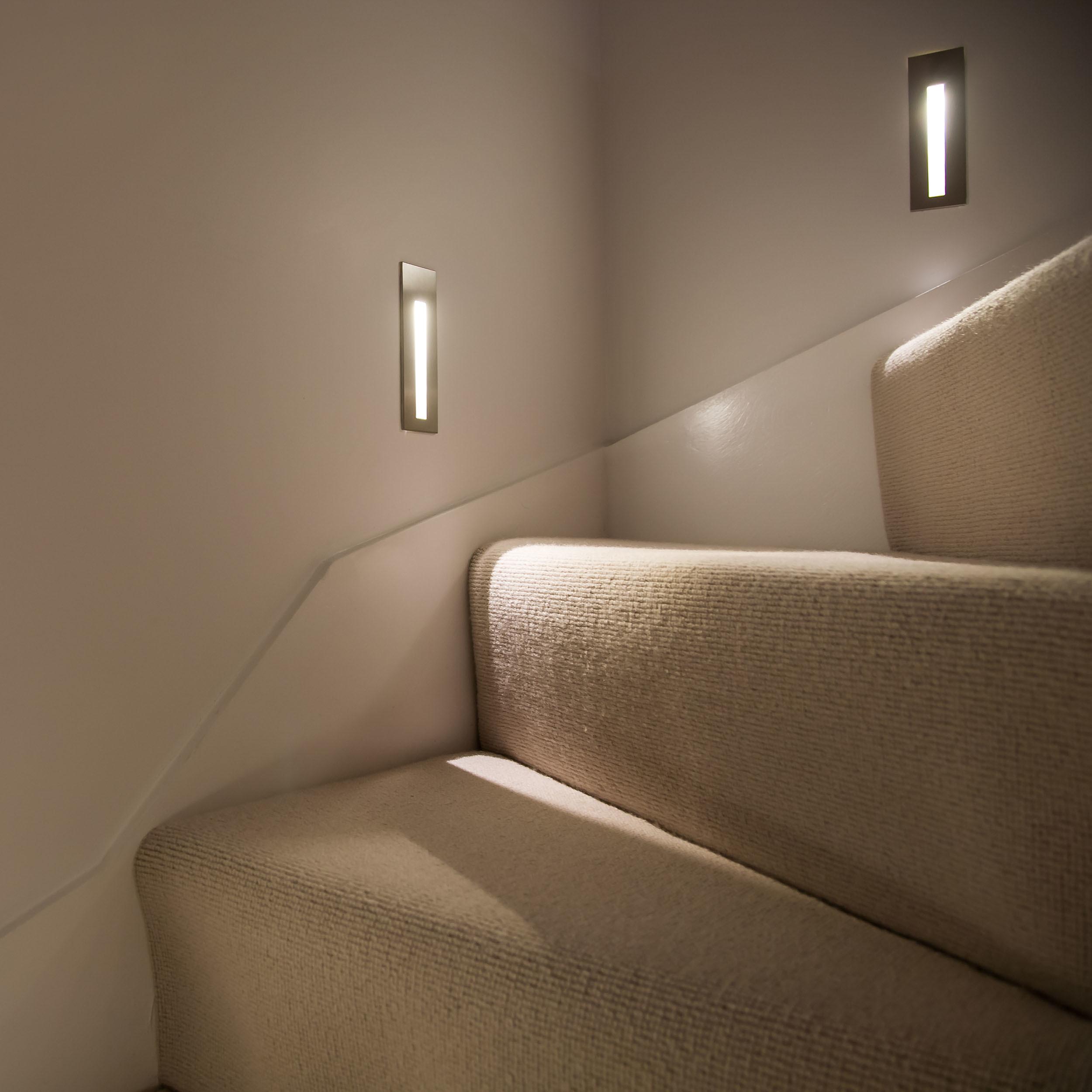 Встраиваемый настенный светодиодный светильник Astro Borgo 1212002 (971), LED 2W 3000K 38.8lm CRI80, хром, металл - фото 4