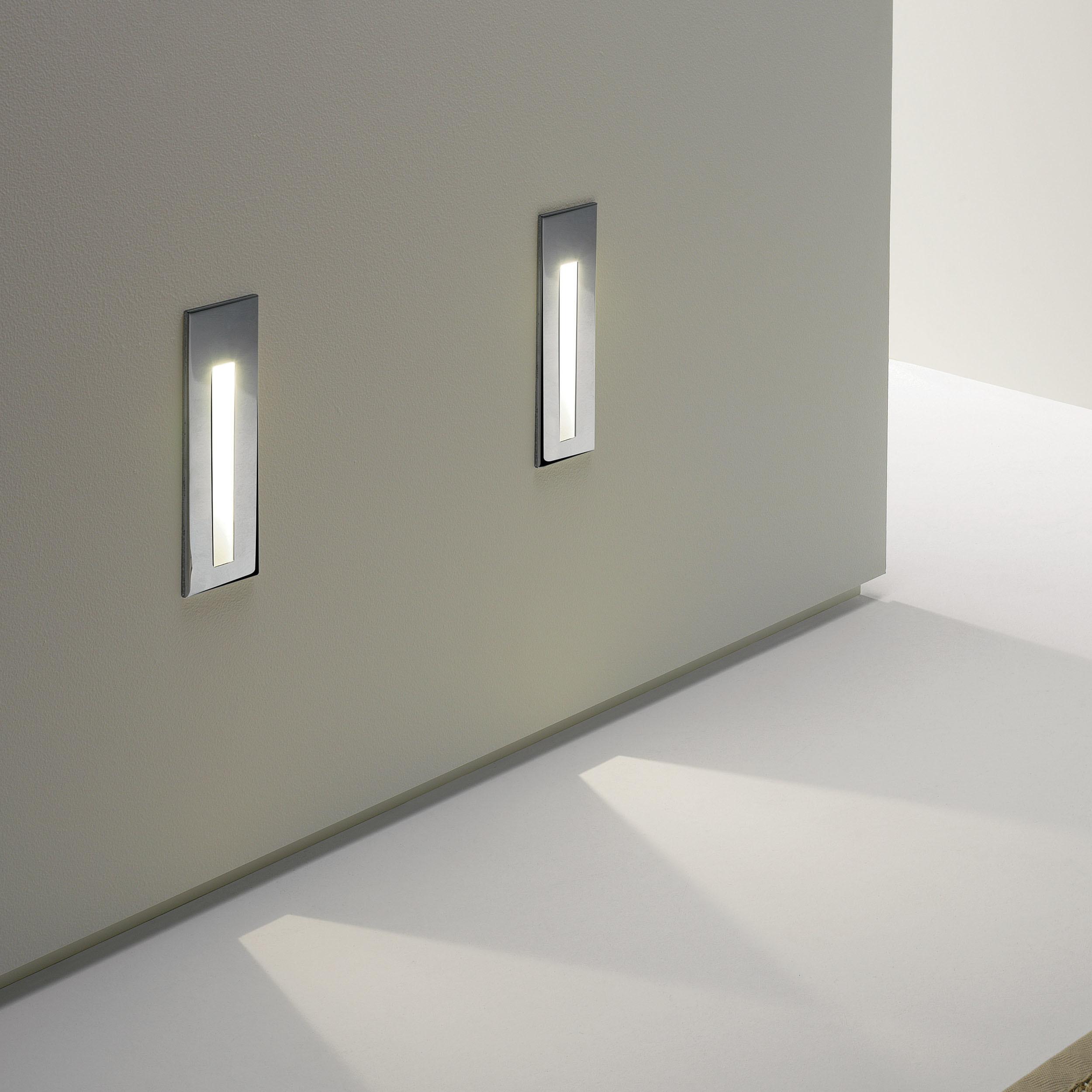Встраиваемый настенный светодиодный светильник Astro Borgo 1212002 (971), LED 2W 3000K 38.8lm CRI80, хром, металл - фото 5