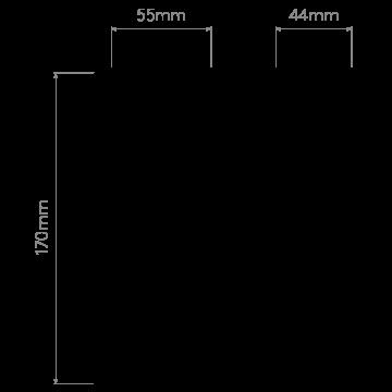 Схема с размерами Astro 1212002