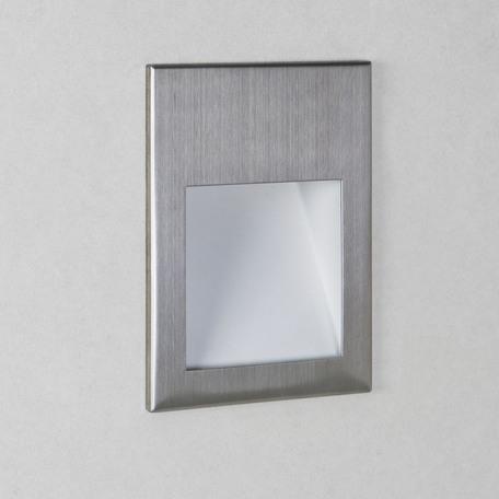 Встраиваемый настенный светодиодный светильник Astro Borgo 1212006 (975), LED 2W 3000K 71.6lm CRI80, сталь, металл