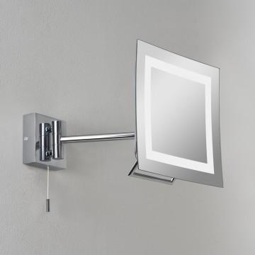 Косметическое зеркало с подсветкой и увеличением Astro Niro 1094002 (0485), IP44, 1xG9x25W