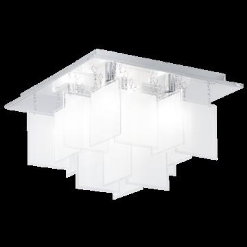 Люстра-каскад Eglo Condrada 1 92726, 5xG9x33W, хром, белый, металл, стекло