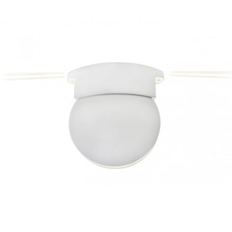 Настенный светодиодный светильник Kink Light Ореон 08579,01, IP65, LED 3W 270lm CRI>80, белый, металл