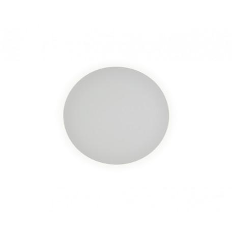 Настенный светодиодный светильник Kink Light Затмение 2200,01, LED 6W 4000K 420lm CRI>80, белый, металл