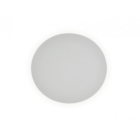 Настенный светодиодный светильник Kink Light Затмение 2201,01, LED 12W 4000K 840lm CRI>80, белый, металл