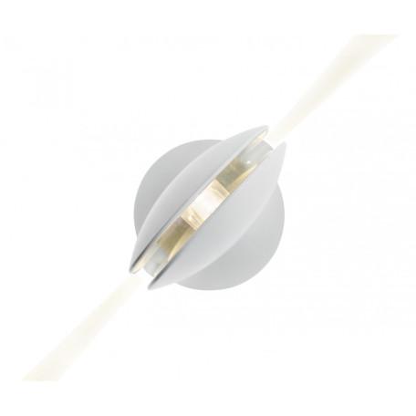 Настенный светодиодный светильник с регулировкой направления света Kink Light Ореон 08574,01(4000К), IP65, LED 3W 4000K 270lm CRI>80, белый, металл
