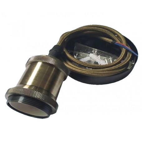 Подвесной светильник Kink Light 098120, 1xE27, бронза, металл