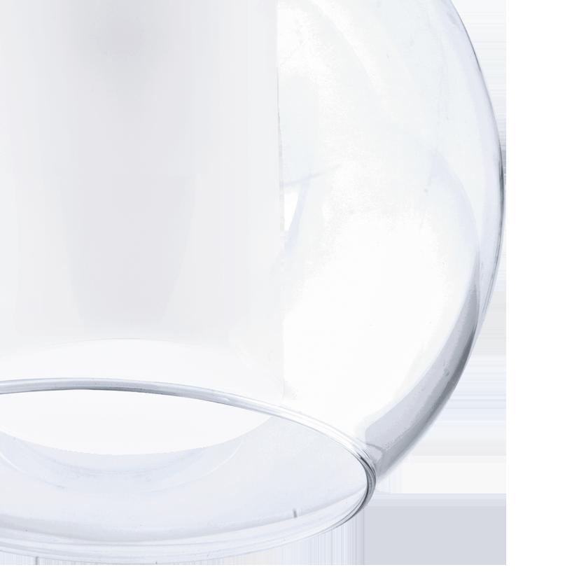 Подвесной светильник Eglo Bolsano 92761, 1xE27x60W, хром, белый, прозрачный, металл, стекло - фото 3