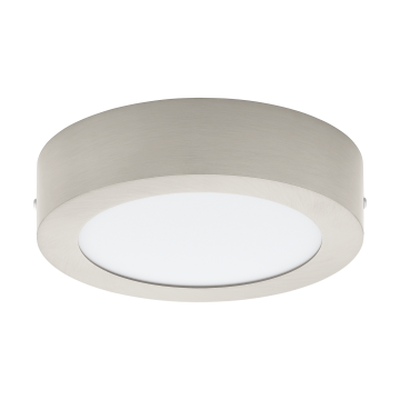 Потолочный светодиодный светильник Eglo Fueva 1 94523, белый, никель, металл, пластик