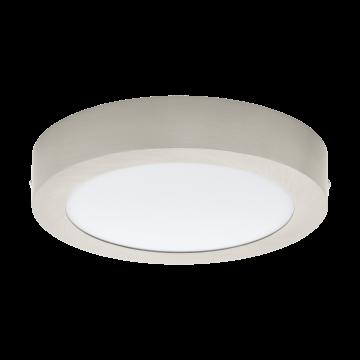 Потолочный светодиодный светильник Eglo Fueva 1 94525, белый, никель, металл, пластик