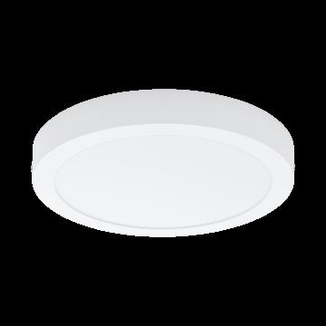 Потолочный светодиодный светильник Eglo Fueva 1 94535, LED 22W 3000K 2200lm, белый, металл с пластиком, пластик