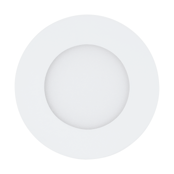 Встраиваемая светодиодная панель Eglo Fueva 1 94041, LED 2,7W, белый, металл, пластик