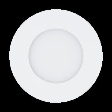Встраиваемая светодиодная панель Eglo Fueva 1 94043, LED 2,7W, 4000K (дневной), белый, металл, пластик