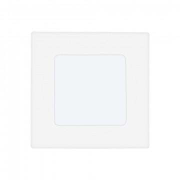 Светодиодная панель Eglo Fueva 1 94046, LED 2,7W 4000K 360lm CRI>80, белый, металл с пластиком, пластик