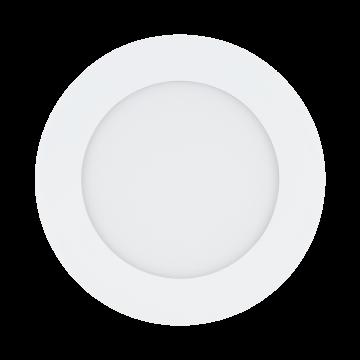 Встраиваемая светодиодная панель Eglo Fueva 1 94047, LED 5,5W, 3000K (теплый), белый, металл, пластик