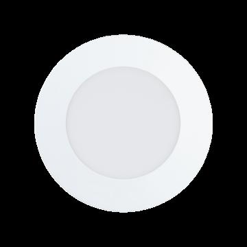 Встраиваемая светодиодная панель Eglo Fueva 1 94051, LED 5,5W 4000K 700lm CRI>80, белый, металл с пластиком, пластик