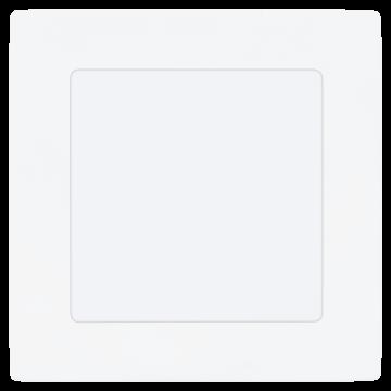 Встраиваемая светодиодная панель Eglo Fueva 1 94053, LED 5,5W, 3000K (теплый), белый, металл, пластик