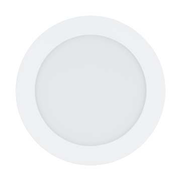 Встраиваемая светодиодная панель Eglo Fueva 1 94056, LED 10,9W 3000K 1200lm CRI>80, белый, металл с пластиком, пластик